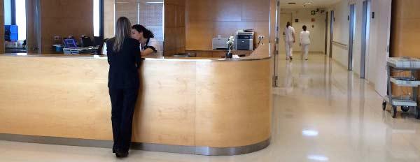 Centro Médico Teknon Recepción